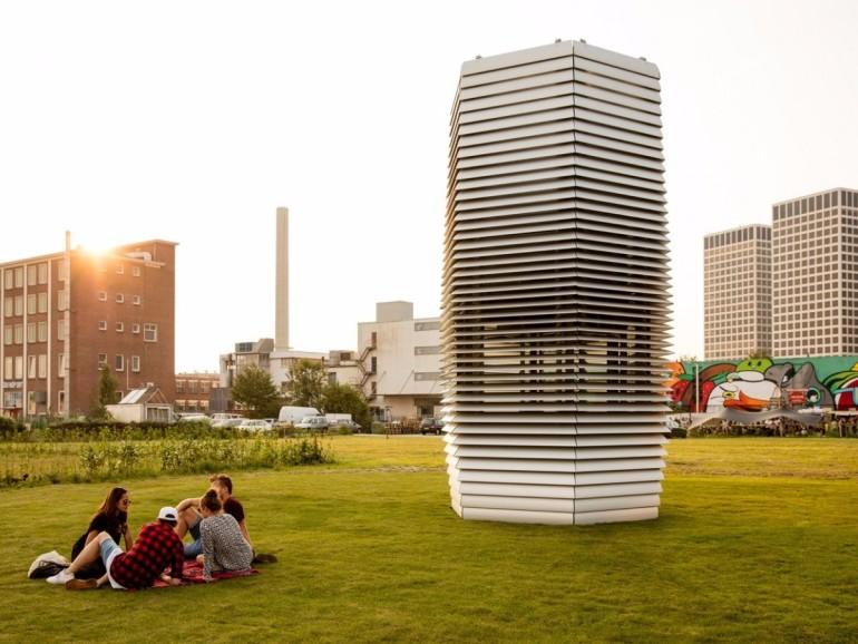 Smog Free Tower zuivert stadslucht