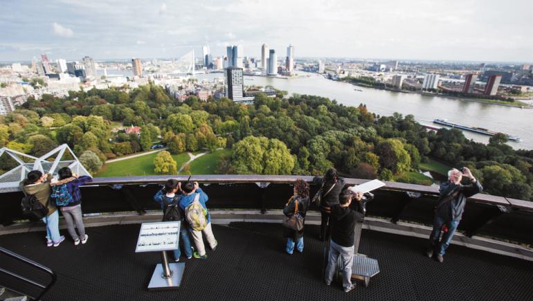 Rotterdam, groene wereldstad van formaat